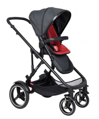 Phil & Teds Voyager Buggy With Chilli Liner