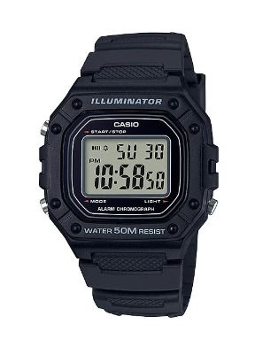 Casio Standard Deep Navy Digital Youth Watch