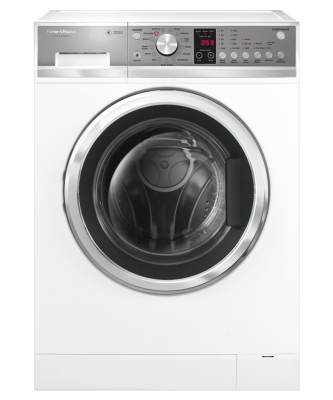 F&P Front Load Washer 8.5Kg Washsmart 850X600X645