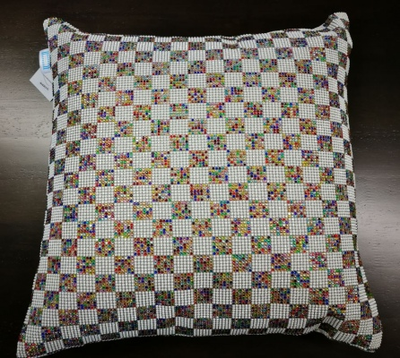 Bella Vista Colourful Diamond Cushion 45X45Cm