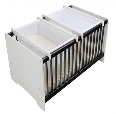 Cariboo Contemporary Cot-Top Changer White