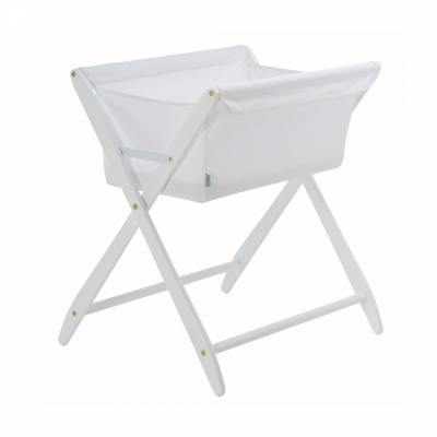Cariboo Folding Bassinet White Stain Nz Made