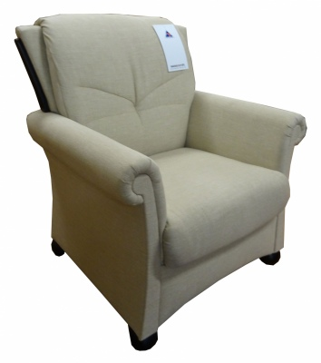 Zonta Occasional Chair In Key Largo Fabric