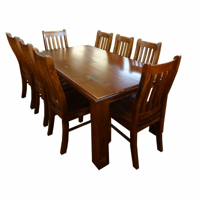 Albury 9Pc Dining Suite Inc 8 Chairs 2100 Table