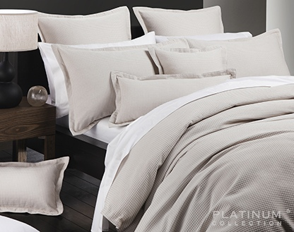 Platinum Ascot Stone Super King Duvet Cover Set