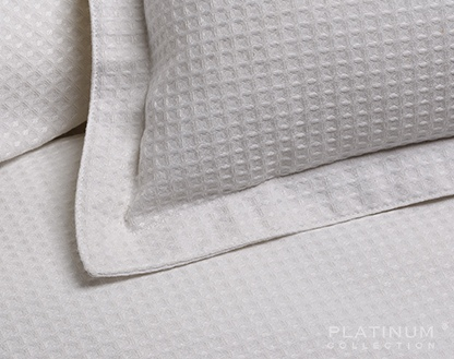 Platinum Ascot White King Duvet Cover Set