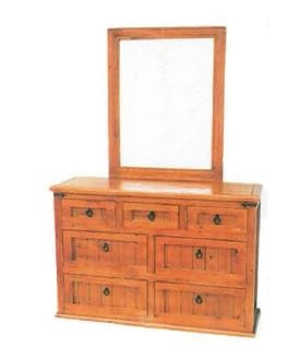 Black Arrow Pine 7DR Dresser 1350X430X1900MM