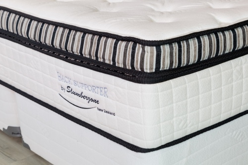 Back Supporter Plush 2.0 Super King Mattress & Bas