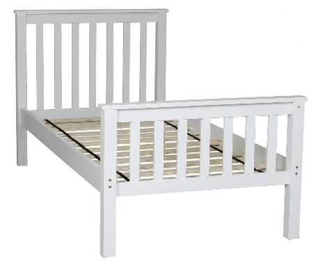 Brodie Higher Height Bunk White 1040X2050X1740H
