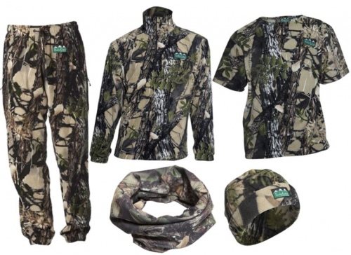 Ridgeline Mens 5PC Pack Buffalo Camo Small