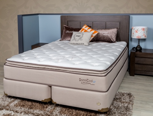 Dormicool 2 Pillow Top Super King Mattress & Base