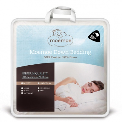 Moemoe Queen Duvet Inner 50/50 Feather/D 210X210Cm