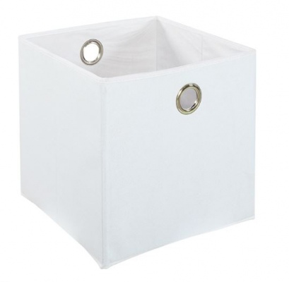 Cubo Storage Box White Fabric W350Xd350Xh350