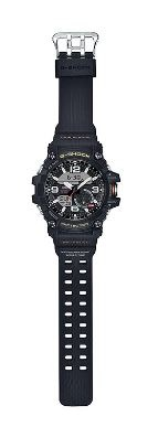 G Shock Mudmaster Black Analogue Watch Solar Power