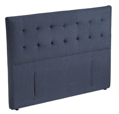 Fendalton Charcoal Upholstered Headboard Super Kin
