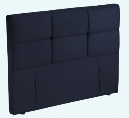St Clair Black Upholstered Headboard Queen