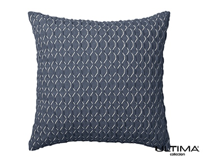 Balmain Indigo Square Cushion 41X41Cm
