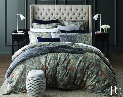 Private Collection Jardin Silver Queen Duvet