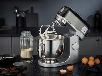 Kenwood Kmix 1000W Mixer Black Chrome
