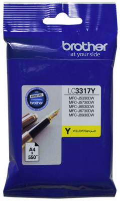 Brother Lc3317Y  Ink Cartridge Yellow