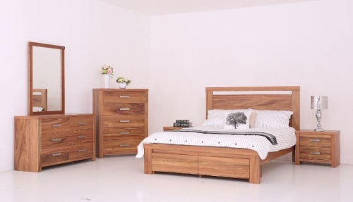 Milford 5Pc Bedroom Suite With King Slat Frame