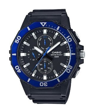 Casio Basic Divers Analogue Watch Navy