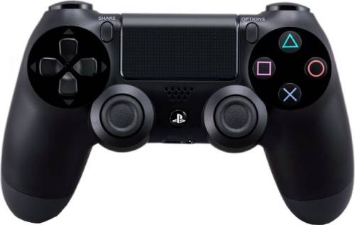 Sony Dual Shock Ps4 Wireless Controller Black V2
