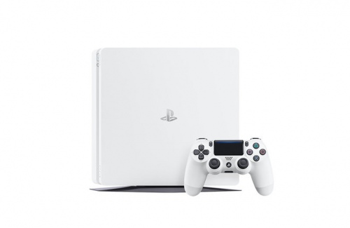 Playstation Ps4 500Gb Slim Console White