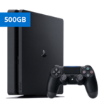 Playstation Ps4 500Gb Slim Console Black