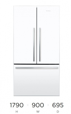 F&P Active Smart Fridge French Door White