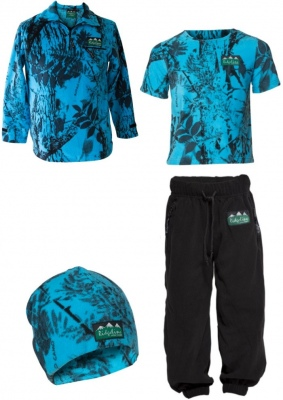 Ridgeline Kids 4PC Pack Blue Camo 12YR Old