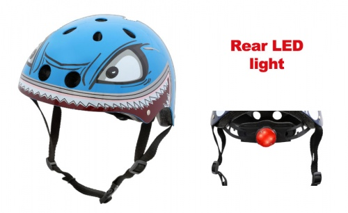 Hornit Lids Shark Medium Helmet W/Light 53-58Cm