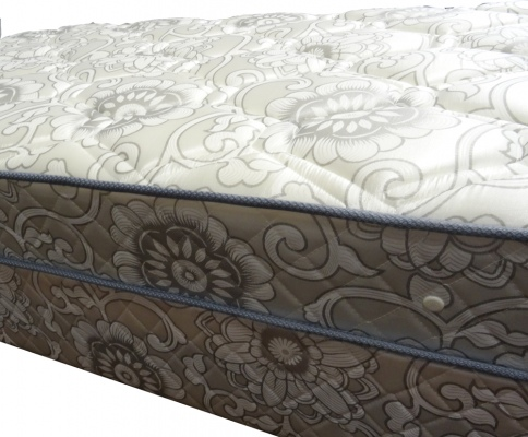Sleep Design Single Mattress & Base Floral Fabric