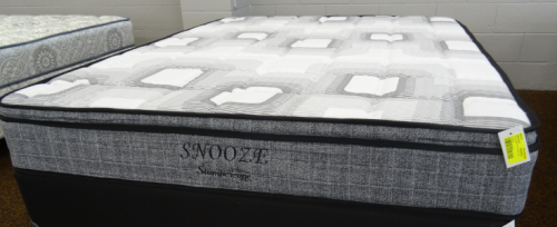 Snooze King Mattress Only Bonnel Spring
