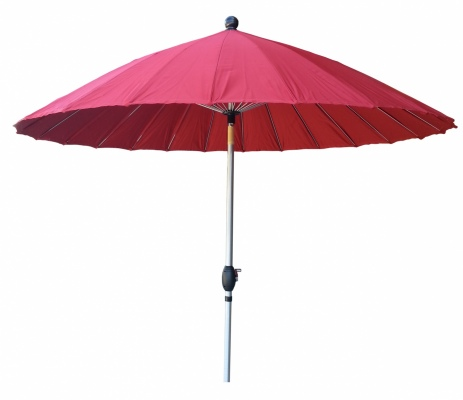 Shanghai Oriental Outdoor Umbrella Red 2.6M Polyes
