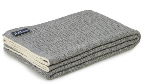 ST Albans Shadow Wool Knit Throw Rug 130X180CM