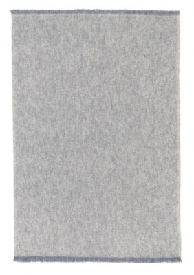 St Albans Granite 100% Alpaca Throw Rug 122X183Cm