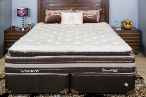 Symphony Queen Mattress & Base Pocket Spring