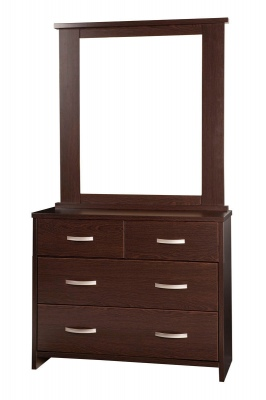 Ultra 4DR Dresser 1000 Wide Dark Oak 1798X1000X396