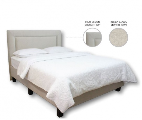 Zita 1200 Upholstered Queen Square Headboard