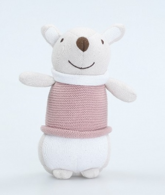 Molly Mouse Soft Toy 100% Knitted Outer