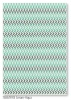 Soho Cream Aqua Arrows Stripe Pattern Rug 1.6X2.3M