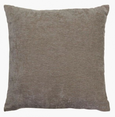 Brooklyn Chenille Silver Cushion 50Cm