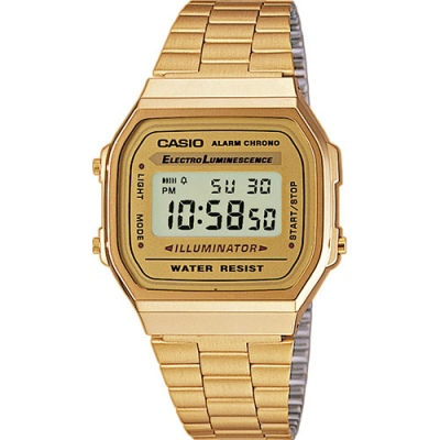 Casio Classic Gold Square Digital Watch