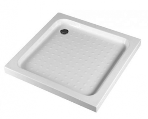 Shower Square Tray 800X800Mm Corner Waste Position
