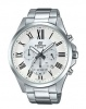 Edifice Classic Stainless White Analogue Watch