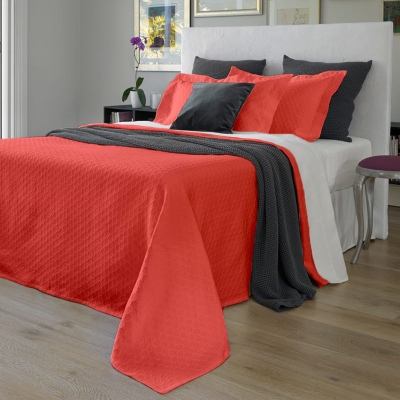 Baksana Eternity Bedspread Persimmon King Single