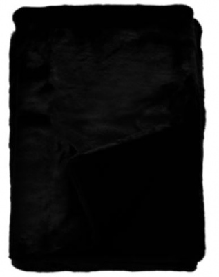 Heirloom Black Panther Acrylic Throw 150X180Cm