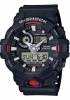 G Shock Black Red Digital & Analogue Watch