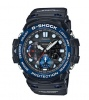 G Shock Gulfmaster Blk/Blue Analogue Watch
